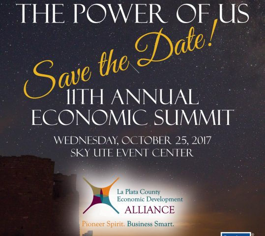2017 Economic Summit…Register Now!